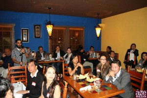 Packed house in attendance! Large group, but intimate enough where you can engage other business owners.