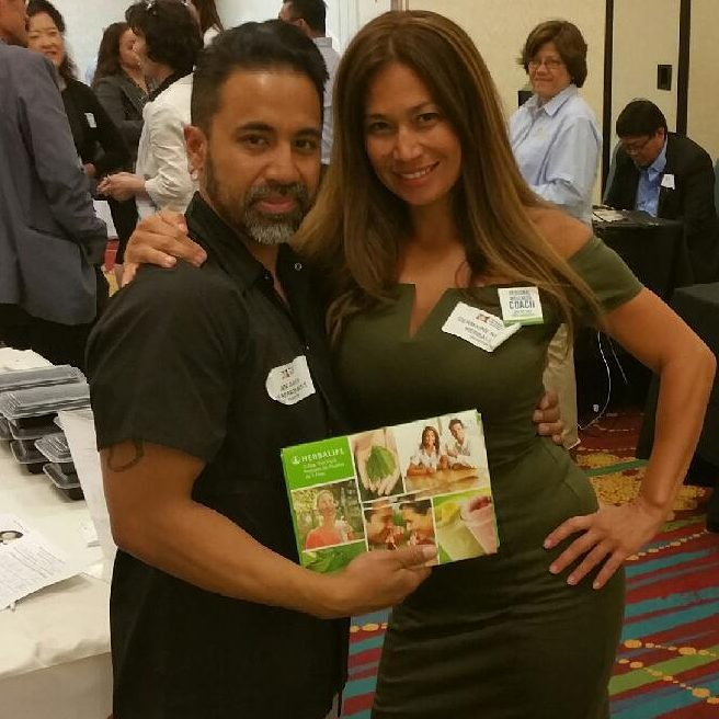 Germaine and Joe at the 2015 Green and Health Expo.